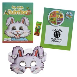 View a larger, more detailed picture of the Coloring Book w Mask & Crayons - Fun with Nutrition