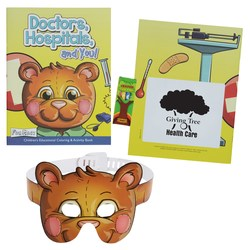View a larger, more detailed picture of the Coloring Book w Mask & Crayons - Doctors Hospitals and You