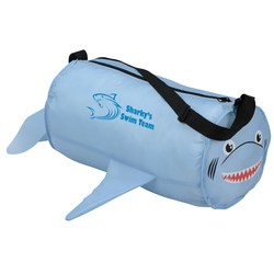 View a larger, more detailed picture of the Paws and Claws Barrel Duffel Bag - Shark