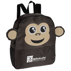 View a larger, more detailed picture of the Paws and Claws Backpack - Monkey