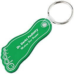 View a larger, more detailed picture of the Foot Soft Key Tag