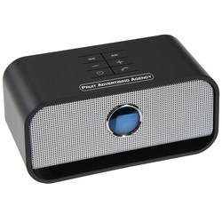 View a larger, more detailed picture of the Brookstone Bluetooth Speaker