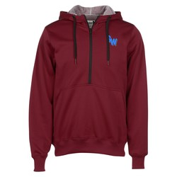 View a larger, more detailed picture of the Archery 1 2 Zip Polyester Hoodie - Embroidery