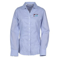 View a larger, more detailed picture of the Cutter & Buck Epic Tattersall Shirt - Ladies
