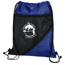 View a larger, more detailed picture of the Angled Drawstring Sportpack