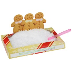 View a larger, more detailed picture of the Gingerbread Snowscape Box