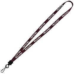 View a larger, more detailed picture of the Lanyard - 1 2 - 32 Length - Metal Swivel Snap Hook