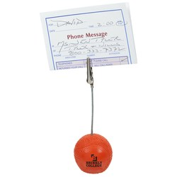 View a larger, more detailed picture of the Basketball Memo Holder - Closeout