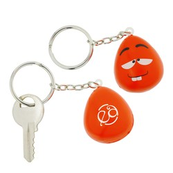 View a larger, more detailed picture of the Wacky Mood Maniac Stress Key Tag