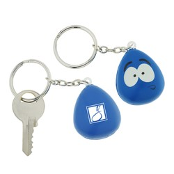 View a larger, more detailed picture of the Stressed Mood Maniac Stress Key Tag