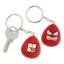 View a larger, more detailed picture of the Angry Mood Maniac Stress Key Tag