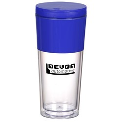 View a larger, more detailed picture of the Color Band Travel Tumbler - 16 oz - 24 hr