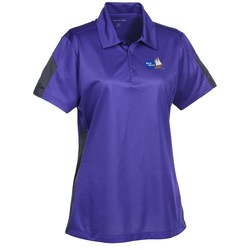 View a larger, more detailed picture of the Active Colorblock Performance Polo - Ladies
