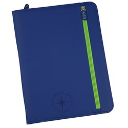 View a larger, more detailed picture of the Technix Zipper Padfolio