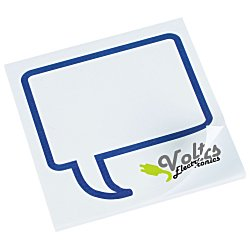 View a larger, more detailed picture of the Bic Sticky Note - Designer - 3x3 - Message Bubble - 25 Sheet
