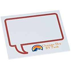 View a larger, more detailed picture of the Bic Sticky Note - Designer - 3x4 - Message Bubble - 25 Sheet