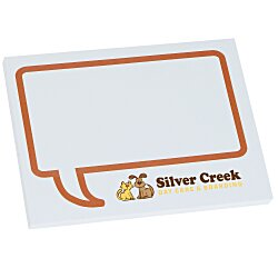 View a larger, more detailed picture of the Bic Sticky Note - Designer - 3x4 - Message Bubble - 50 Sheet
