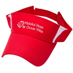 View a larger, more detailed picture of the Pro-Style Cotton Twill Visor