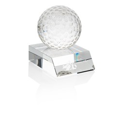 View a larger, more detailed picture of the Crystal Golf Ball Award - 4