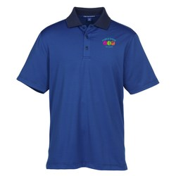 View a larger, more detailed picture of the Fine Stripe Performance Polo - Men s