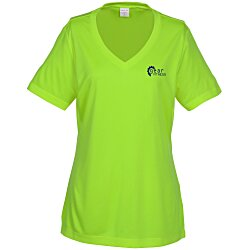 View a larger, more detailed picture of the Contender Athletic V-Neck T-Shirt - Ladies - Screen