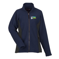 View a larger, more detailed picture of the Katahdin Tek Colorblock Fleece Jacket - Ladies - 24 hr