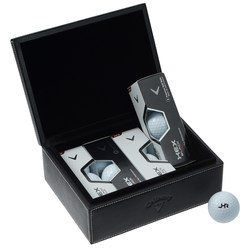 View a larger, more detailed picture of the Callaway Golf Leather Caddie Kit - Closeout