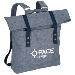 View a larger, more detailed picture of the Chambray Rucksack Backpack