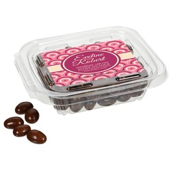 View a larger, more detailed picture of the Rectangle Snack Pack - Chocolate Almonds