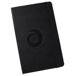 View a larger, more detailed picture of the Moleskine Hard Cover Notebook - 8-1 4 x 5 - Blank