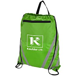 View a larger, more detailed picture of the Twilight Reflective Drawstring Sportpack