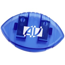 View a larger, more detailed picture of the Keep-it Magnet Clip - Football - Translucent