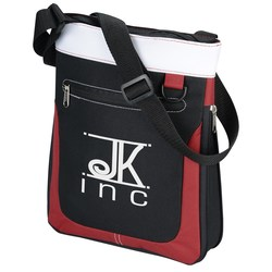 View a larger, more detailed picture of the Expandable Mini Messenger Tote
