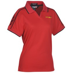 View a larger, more detailed picture of the Tach Performance Polo Shirt - Ladies