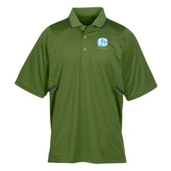 View a larger, more detailed picture of the Eperformance Interlock Accent Polo - Men s