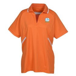 View a larger, more detailed picture of the Eperformance Interlock Accent Polo - Ladies