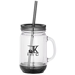 View a larger, more detailed picture of the Game Day Color Pop Mason Jar - 20 oz