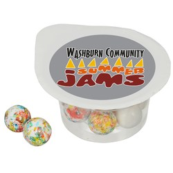 View a larger, more detailed picture of the Treat Cups - Mini Jaw Breakers
