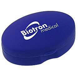 View a larger, more detailed picture of the Oval Pill Box - Opaque - 24 hr