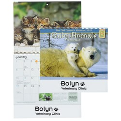 View a larger, more detailed picture of the Farmer s Almanac 2015 Calendar-Baby Animals-Spiral- Closeout