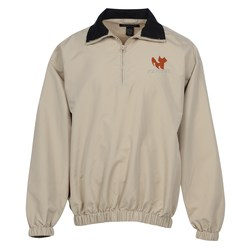 View a larger, more detailed picture of the Microfiber 1 4 Zip Windshirt