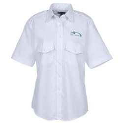 View a larger, more detailed picture of the Short Sleeve Navigator Shirt - Ladies