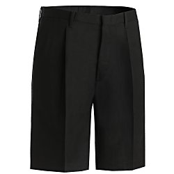 View a larger, more detailed picture of the Poly Cotton Pleated Front Transit Shorts - Men s