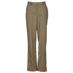 View a larger, more detailed picture of the Poly Cotton Flat Front Transit Pants - Ladies