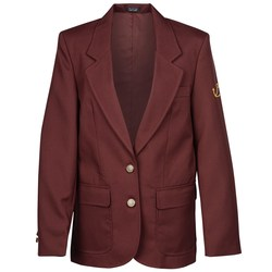 View a larger, more detailed picture of the Polyester Single Breasted Suit Coat - Ladies