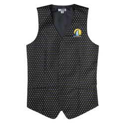 View a larger, more detailed picture of the Diamonds & Dots Brocade Vest - Men s