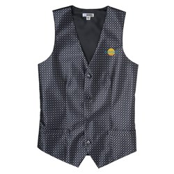 View a larger, more detailed picture of the Grid Brocade Vest - Men s