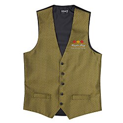 View a larger, more detailed picture of the Diamond Brocade Vest - Men s