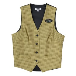 View a larger, more detailed picture of the Diamond Brocade Vest - Ladies