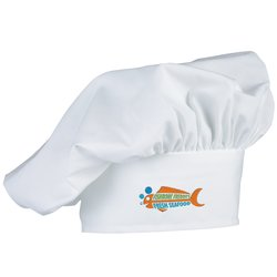 View a larger, more detailed picture of the Poplin Chef Hat